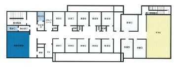 医療・障がい総合福祉施設 縁 - えん 3階案内図